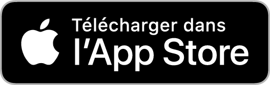 Télécharger l'application sur l'AppStore