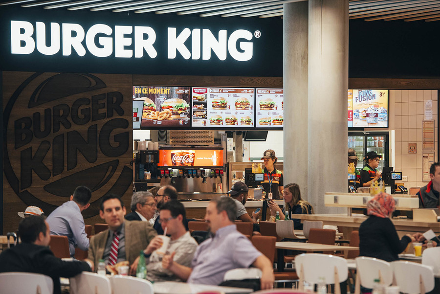 restaurants burger king lyon aéroport