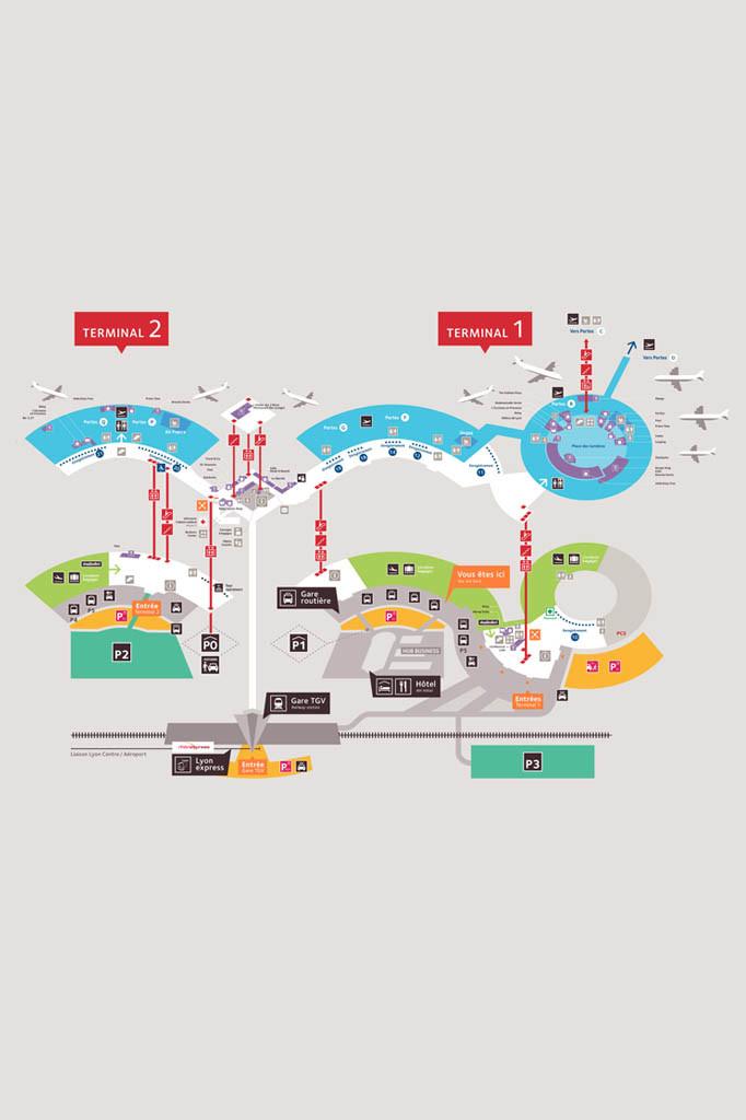 Access Plan Lyon Aeroport