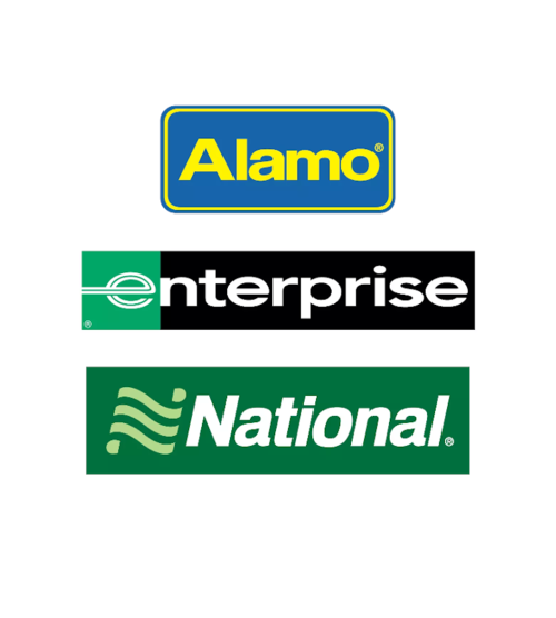 Service loueurs Enterprise National Alamo widget